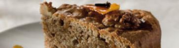 Ореховый кекс с коньяком