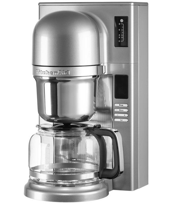 Кофеварка заливного типа Kitchenaid | серебристый