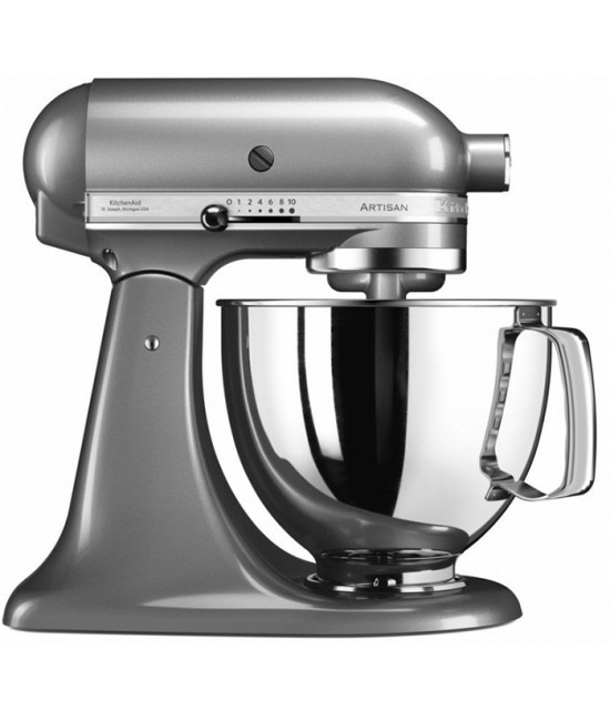 Миксер KitchenAid Artisan 4,8 л | серебристый