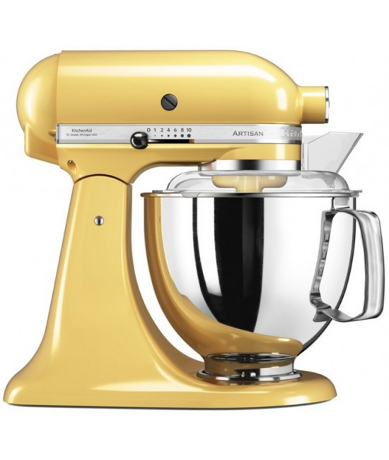 Миксер KitchenAid Artisan 4,8 л | желтый