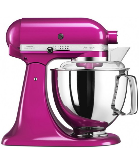 Миксер KitchenAid Artisan 4,8 л | малиновый лед