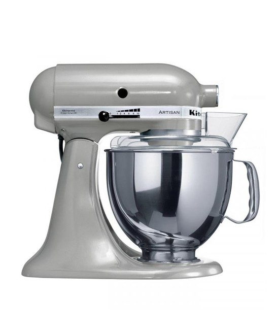 Миксер KitchenAid Artisan 4,8 л | хромовый металлик