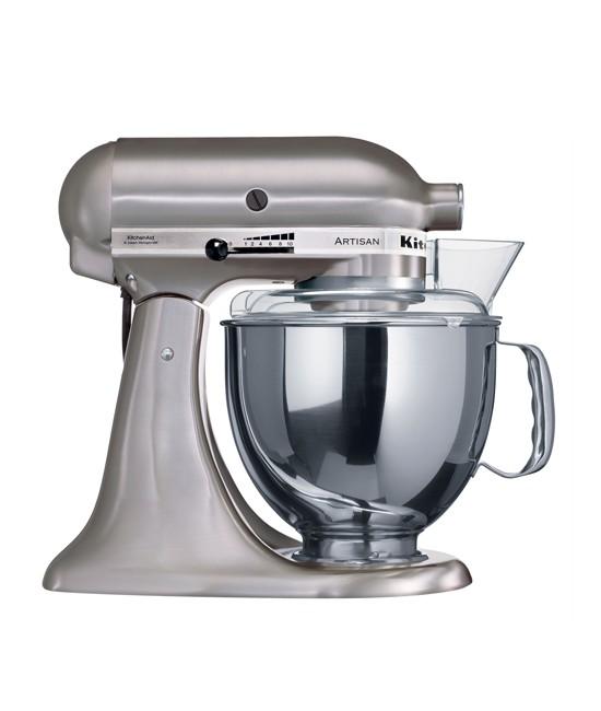 Миксер KitchenAid Artisan 4,8 л | матовый никель