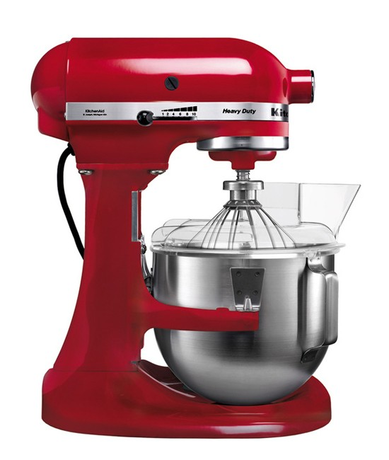 Миксер KitchenAid Heavy Duty 4,8 л | красный