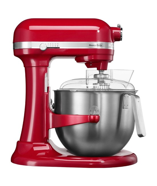 Миксер KitchenAid Heavy Duty 6,9 л | красный