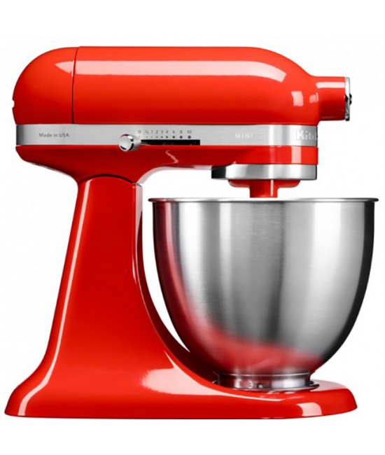 Миксер Mini Kitchenaid 3,3 л | красный чили