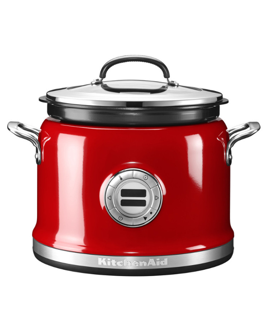 Мультиварка с мешалкой KitchenAid | красный