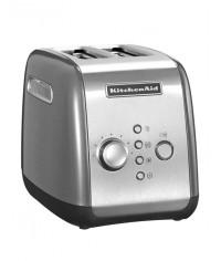 Тостер KitchenAid для 2 тостов | серебристый