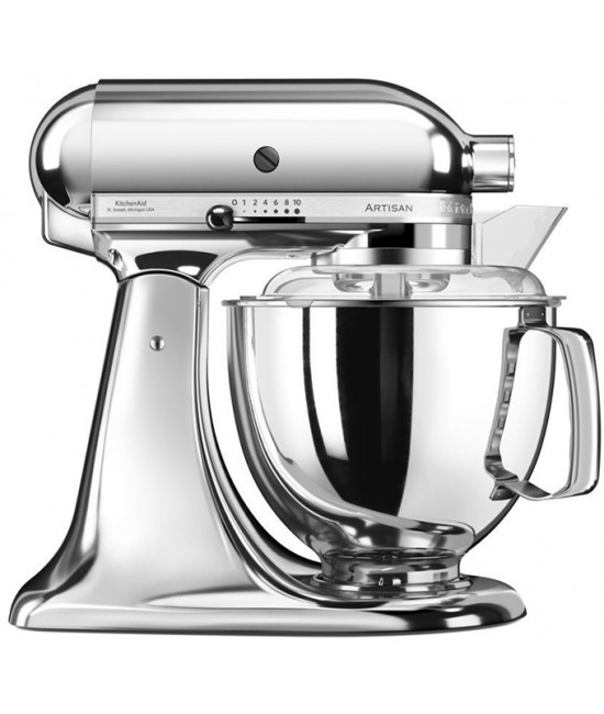 Миксер KitchenAid Artisan 4,8 л | хром