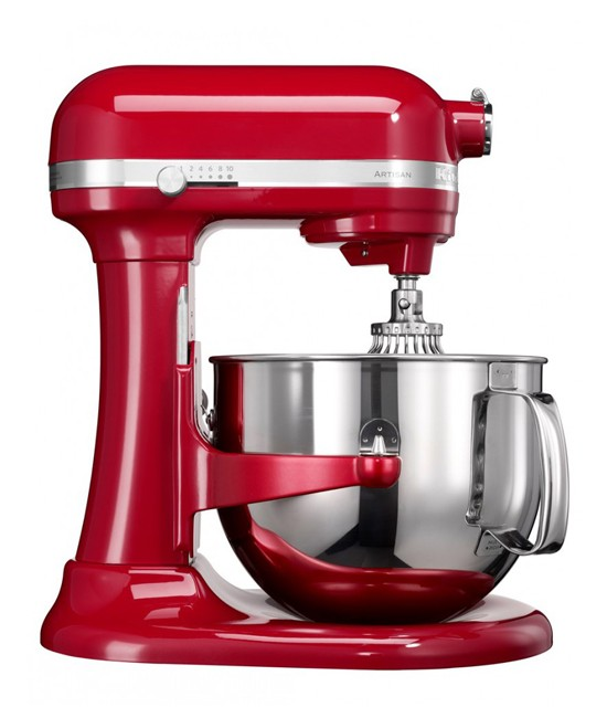 Миксер KitchenAid Artisan 6,9 л | красный